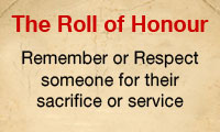 Enroll someone on the Inconnu Roll of Honour